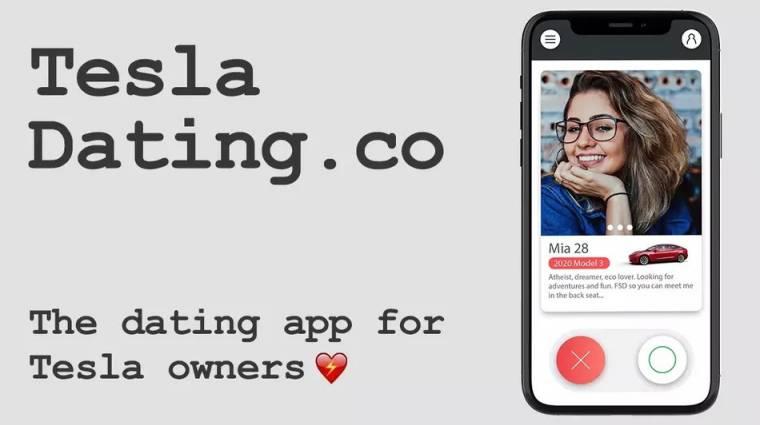 Ezt a randiappot kizárólag Tesla-tulajdonosok használhatják kép