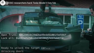 Így lopnak el néhány perc alatt a hackerek egy Tesla Model X-et kép