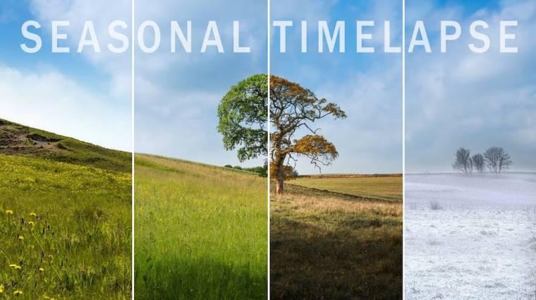 Három perces kisfilmen nézheted, hogy mennyit változik a természet három év alatt kép