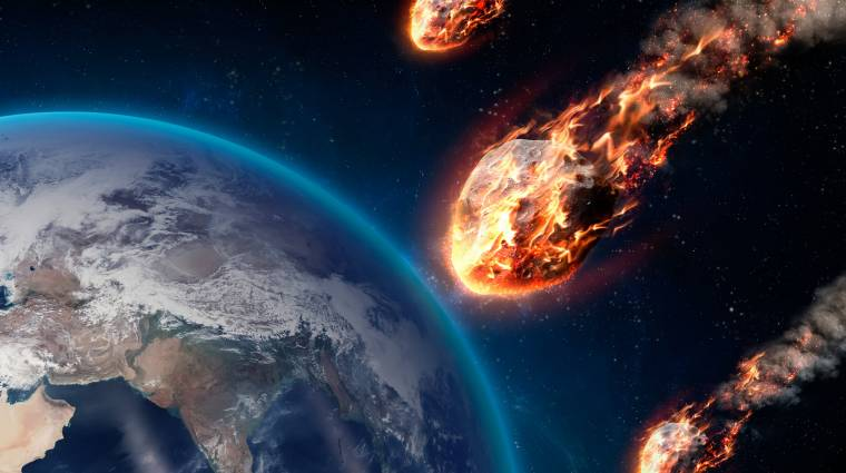 Aszteroidák közelítik meg a Földet a napokban kép