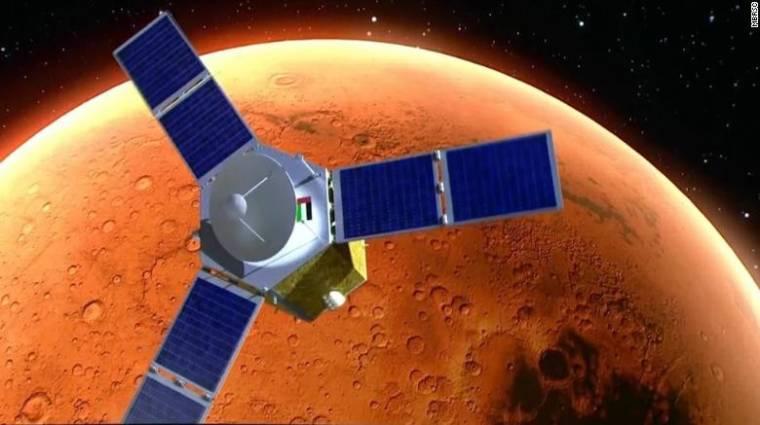 Elindult az Egyesült Arab Emírségek Mars-programja kép