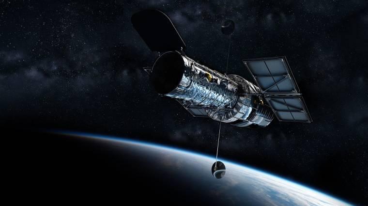 Óriási kozmikus karambolról készült látványos fotó kép