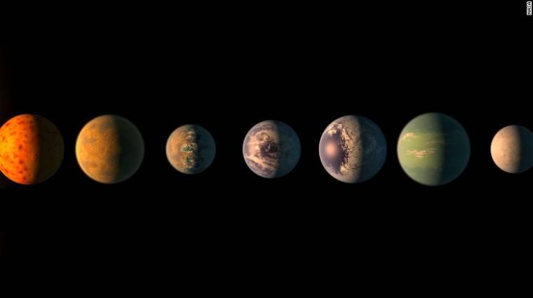 50 új bolygót fedezett fel a mesterséges intelligencia kép