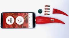Ez a mobilos kiegészítő megmondja, hogy milyen erős a chili kép