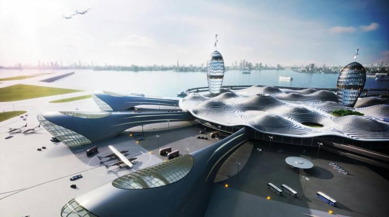 Japánban már városi űrközpontokat építenének kép