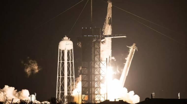 Újabb űrhajósokat vitt fel a világűrbe a SpaceX kép