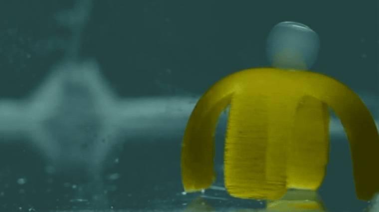 Itt egy fénnyel működő, vízalapú robot, ami táncol is kép