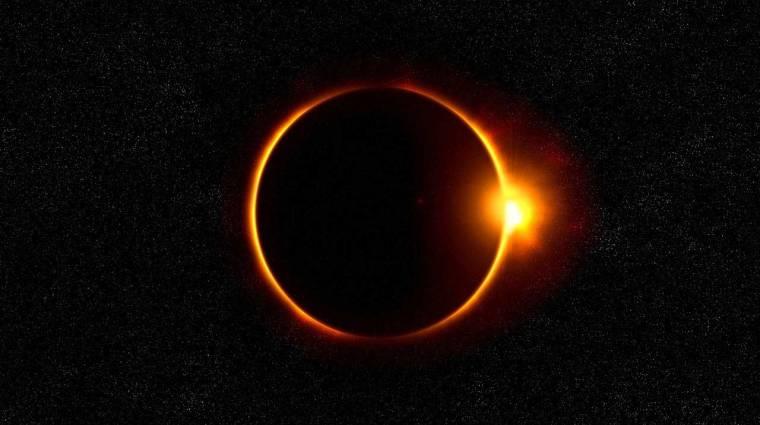 A NASA élőben streameli a napfogyatkozást kép