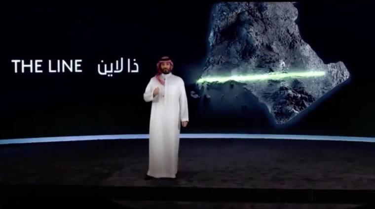 Szaúd-Arábia felépít egy 170 kilométer hosszú várost kép