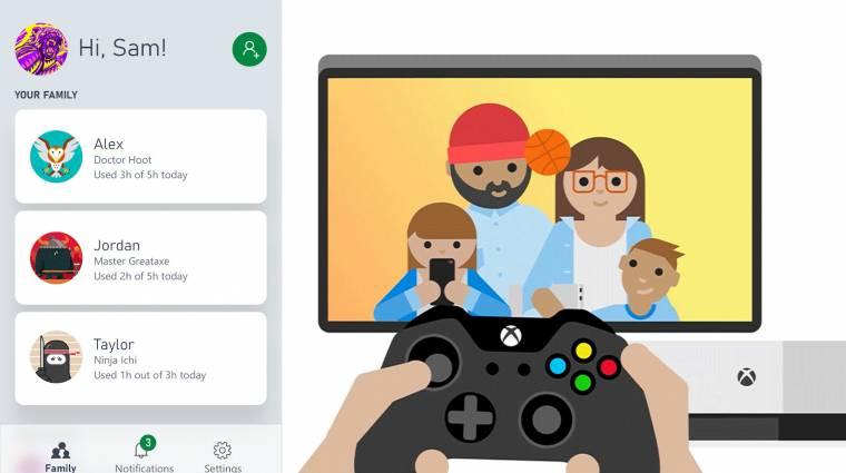 Mobilon szabályozhatják a szülők, mennyit Xboxozik a gyerek bevezetőkép
