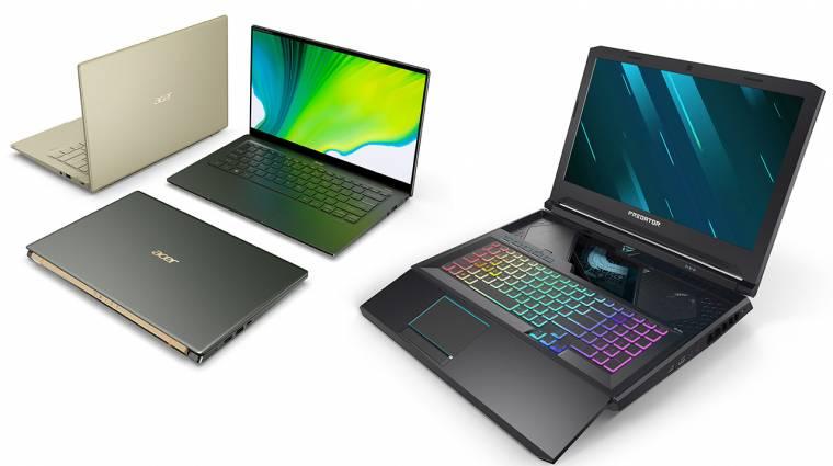 Az Acer játékosoktól az alkotókig mindenkinek hozott valami újat kép