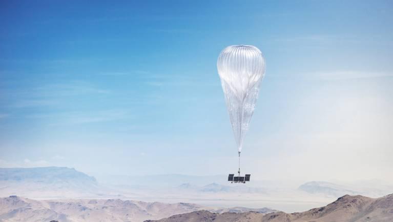 Mégsem szórja hőlégballonról az internetet a Google testvércége kép