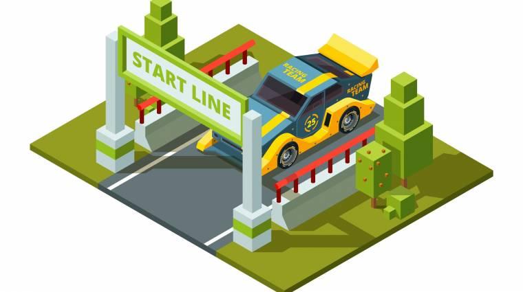 Hogyan készíts autóverseny-játékot házilag? kép