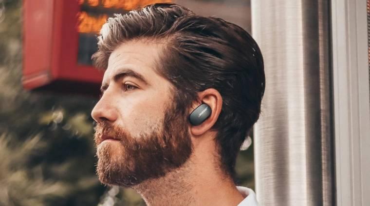 Megérkezett a Bose első zajszűrős és vezeték nélküli fülhallgatója kép