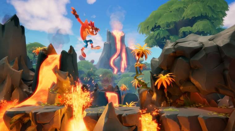 Izgalmas újdonságokat ígér a Crash Bandicoot 4: It's About Time bevezetőkép