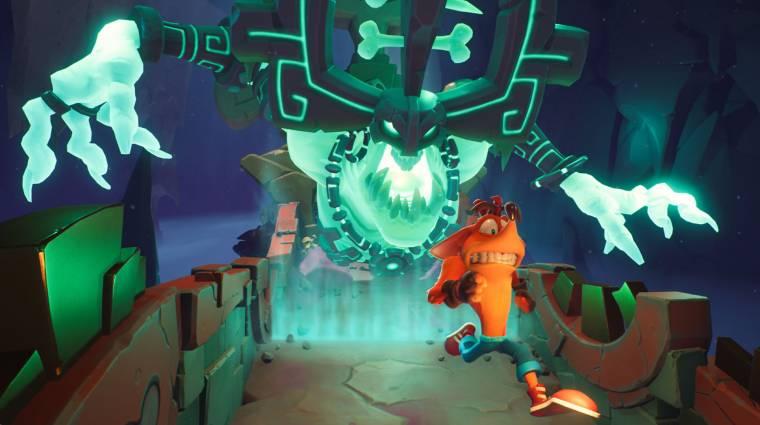 Néhány perces Crash Bandicoot 4: It's About Time gameplay érkezett bevezetőkép