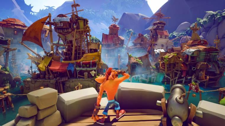 A Crash Bandicoot 4: It's About Time több mint 100 pályát hoz majd bevezetőkép