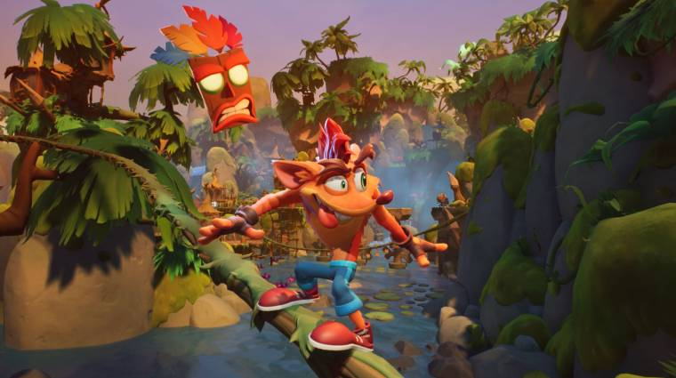Mit mutatnak az első Crash Bandicoot 4: It's About Time tesztek? bevezetőkép