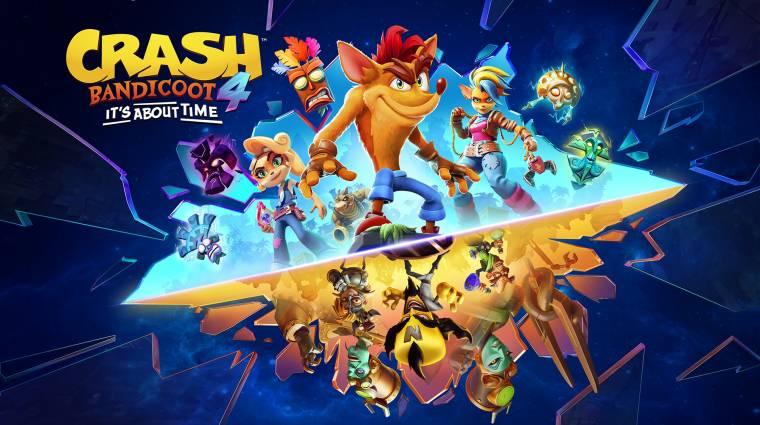 PC-re és más platformokra is megjelenik a Crash Bandicoot 4: It's About Time bevezetőkép