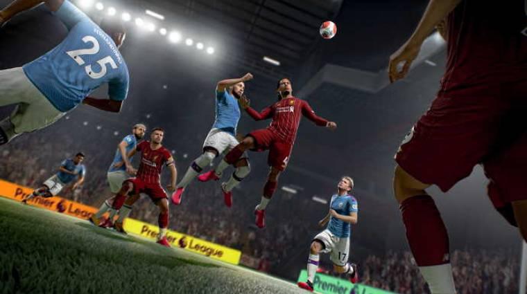 A FIFA 21 egyik bugja az égbe küldi a sztárokat bevezetőkép