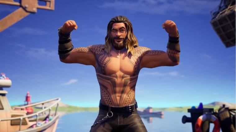 Jason Momoa Aquamanjével érkezik a Fortnite Season 3 bevezetőkép