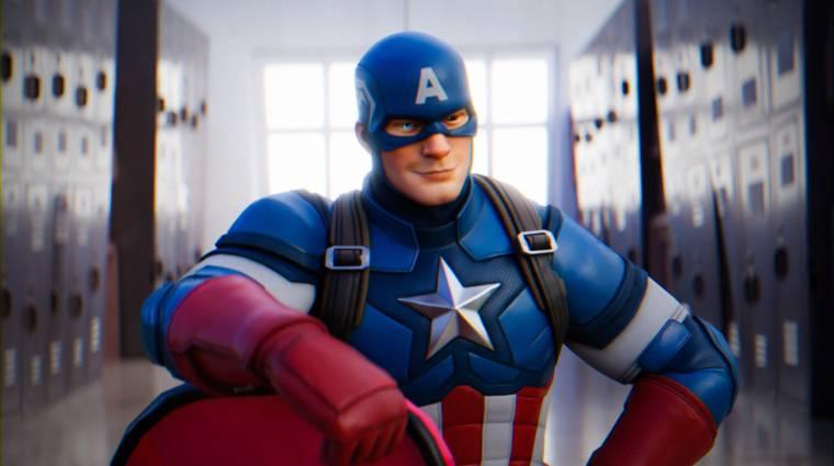 Amerika Kapitány is csatlakozott a Fortnite-hoz bevezetőkép