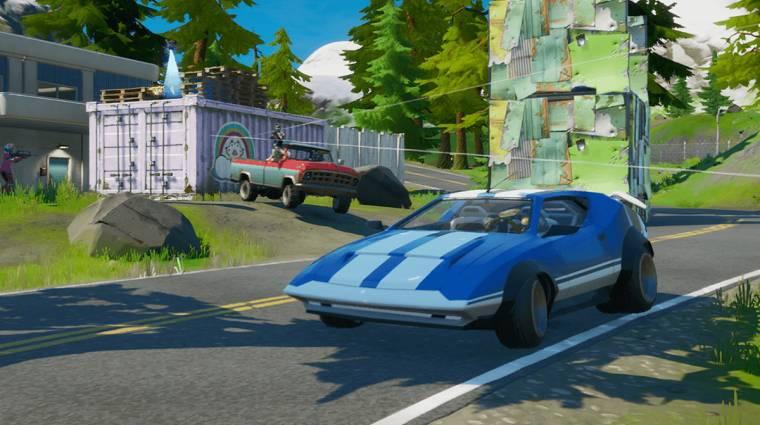 A héten jönnek a Fortnite autói bevezetőkép