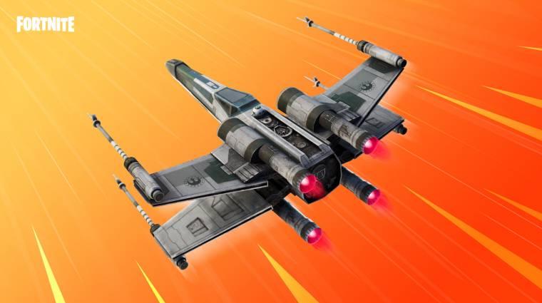 Felbukkant egy X-Wing a Fortnite-ban bevezetőkép