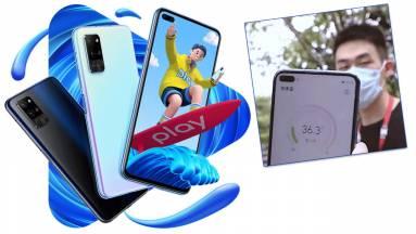Az új Honor Play 4 Pro mobil már lázat is mér kép