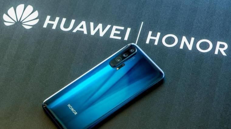 Hiába adta el a Huawei, ismét bukhatja a Honor a Google szolgáltatásait kép