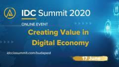 IDC Summit 2020:  Értéket teremteni a digitális gazdaságban kép