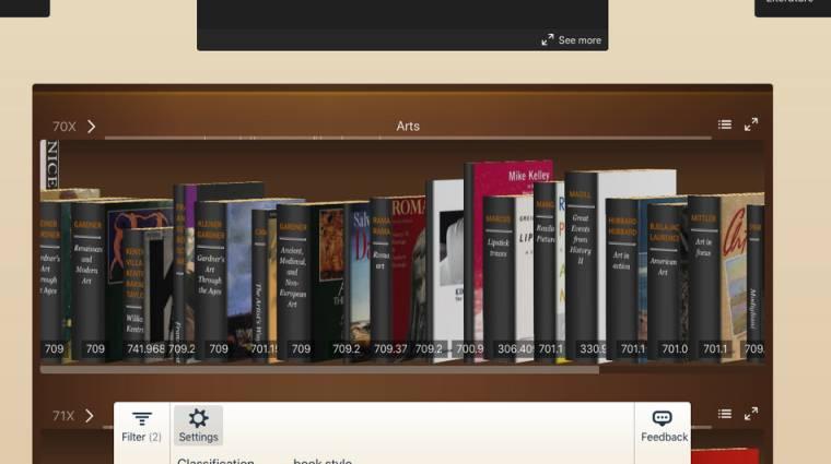 Könyvtári élményt nyújt az Internet Archive digitális keresője kép