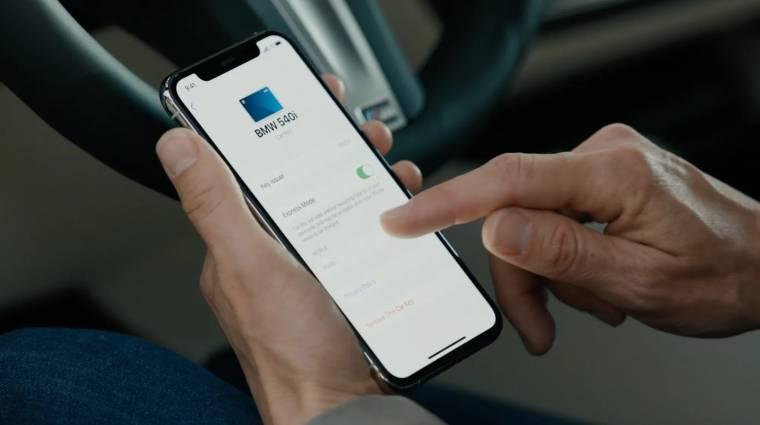 Mostantól slusszkulcsként is működhet az iPhone kép