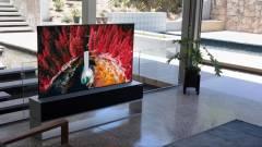 Jön az LG feltekerhető tévéje kép