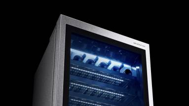 Hangvezérelt okos-borhűtője is van már az LG-nek kép