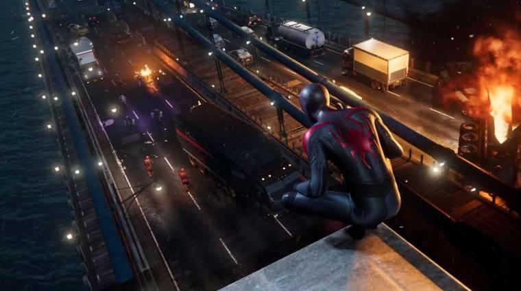Lopakodásban és harcban is otthonosan mozog a Marvel's Spider-Man: Miles Morales címszereplője bevezetőkép