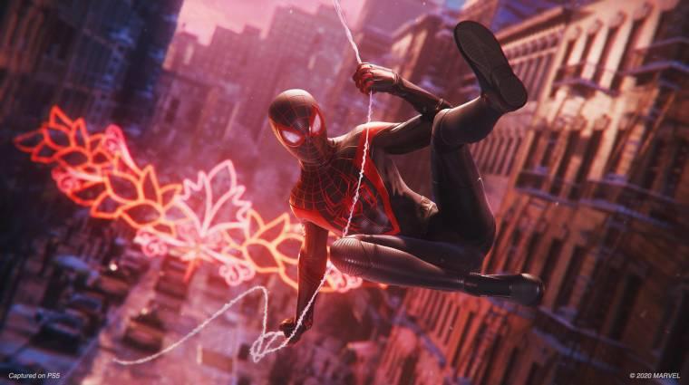 A Marvel's Spider-Man: Miles Moralesben is kapunk extra pókruhákat, íme az első bevezetőkép