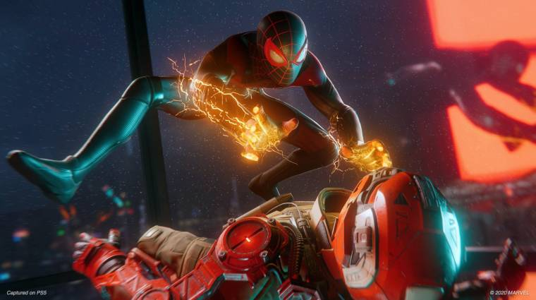 Látványos Marvel's Spider-Man: Miles Morales játékmenet érkezett bevezetőkép