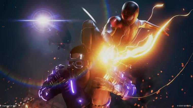 Ilyen mozgásban a Spider-Man: Miles Morales bevezetőkép