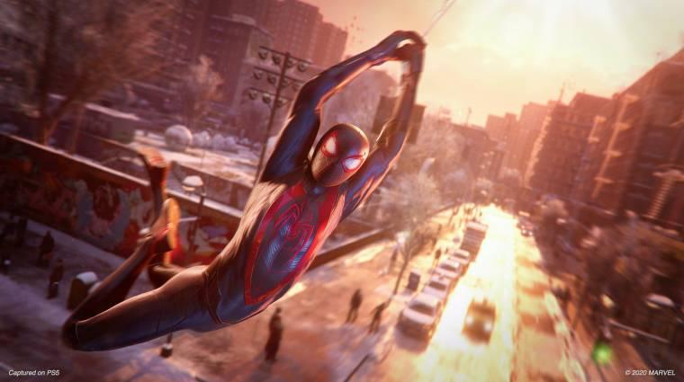 Ezt csinálják a Spider-Man: Miles Morales NPC-i a hátad mögött bevezetőkép