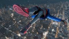 Bűnüldöző téglát és kukát csinál egy bug a Marvel's Spider-Man: Miles Morales főhőséből kép