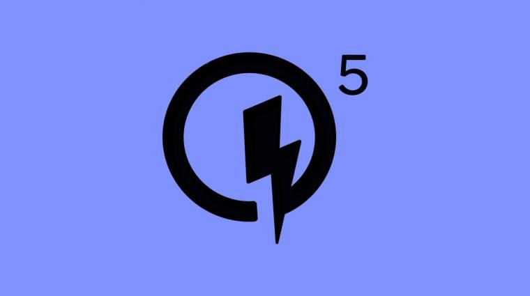 15 perc alatt tölti fel a következő mobilodat a Quick Charge 5 kép