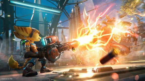 Így néz ki futás közben a PS5-ös Ratchet & Clank: Rift Apart kép