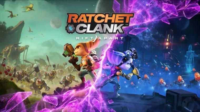Magyar felirattal jelenik meg a Ratchet & Clank: Rift Apart bevezetőkép