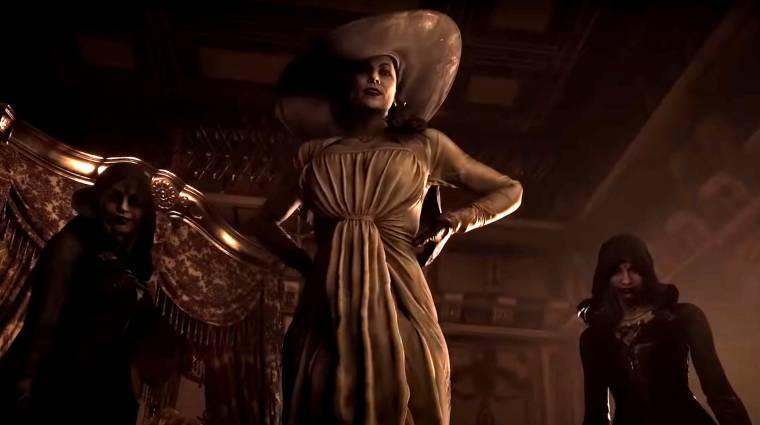 Végre kiderült, milyen magas a Resident Evil Village óriás vámpírhölgye bevezetőkép