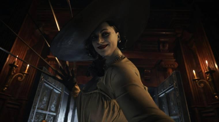 Így fut majd a különböző konzolokon a Resident Evil Village bevezetőkép