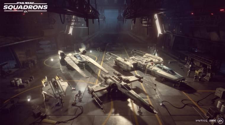 Kiderült a Star Wars: Squadrons gépigénye, ilyen vas kell majd a pilótáknak bevezetőkép