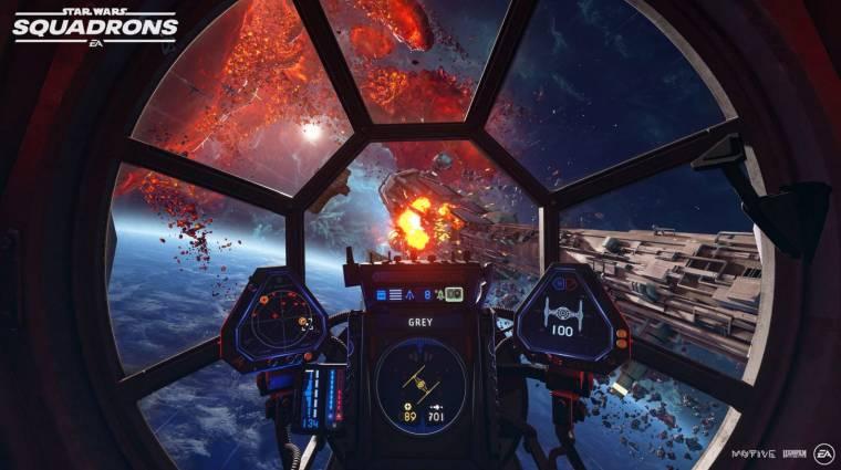 Ezeket a gépeket vonultatja fel a Star Wars: Squadrons bevezetőkép