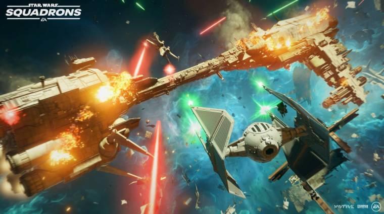 Aranylemezen a Star Wars: Squadrons, és van még egy jó hírünk bevezetőkép