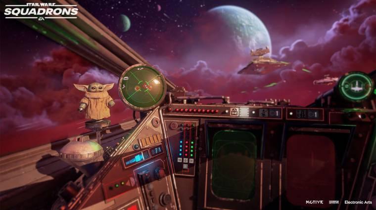 Ingyenes The Mandalorian DLC-t kap a Star Wars: Squadrons bevezetőkép